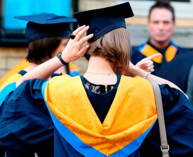 The Irish Independent — Graduates pocket up to €220,000 extra as universities return €9bn a year to economy