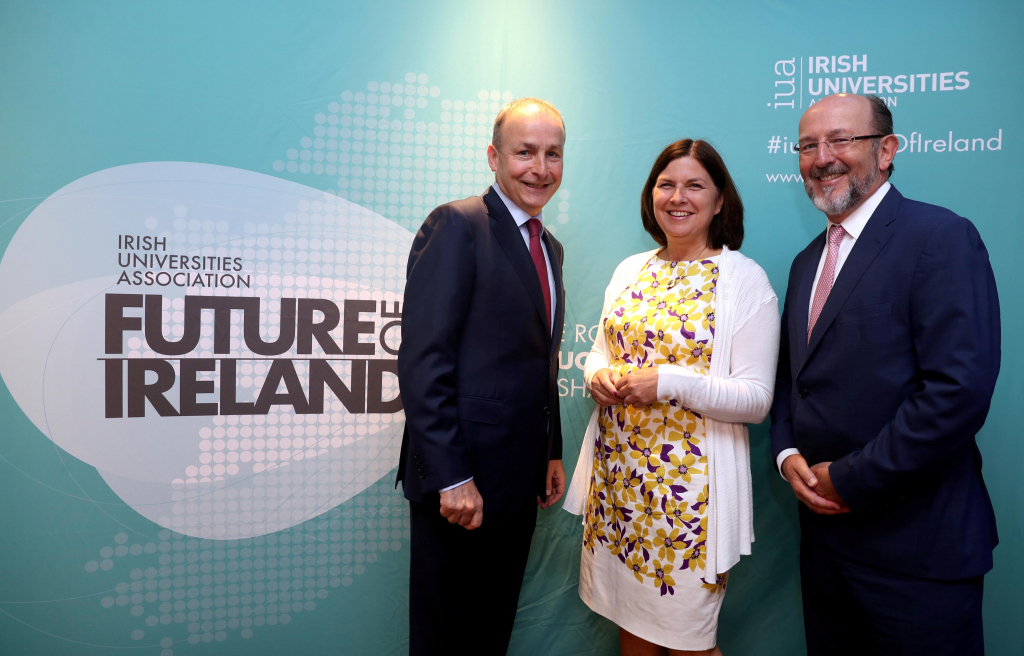 Micheál Martin calls for a separate Department of Higher Education and Research at IUA Future of Ireland Event