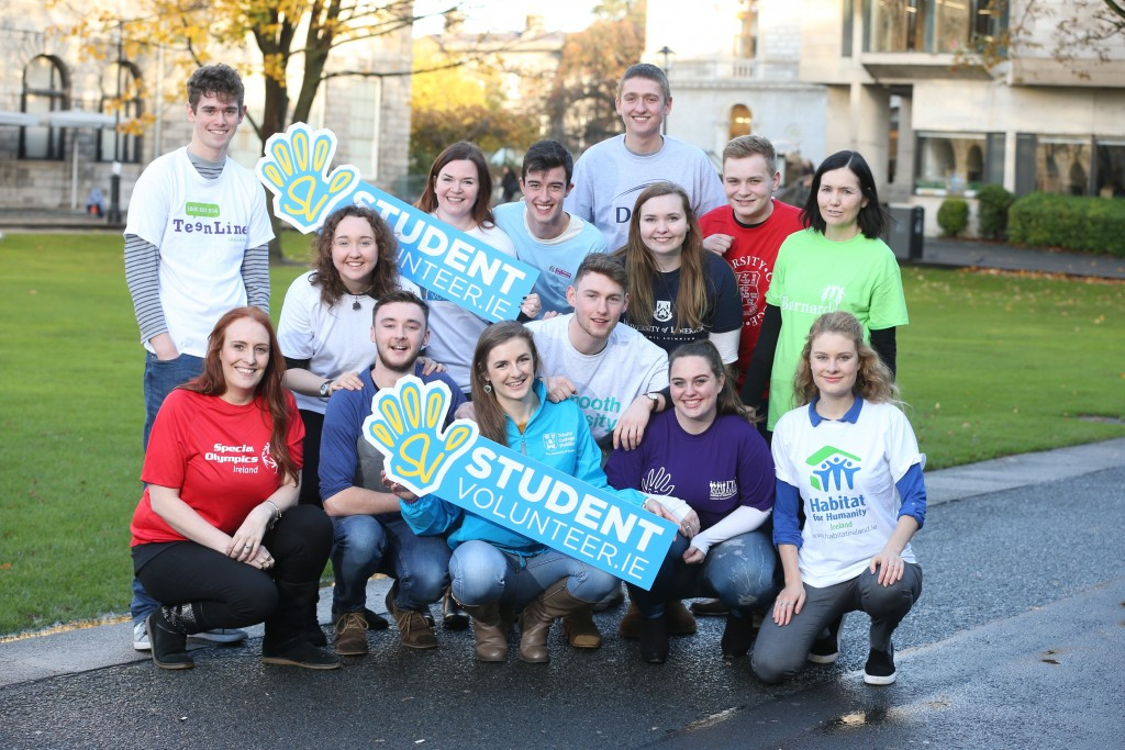 New Technology to Scale-up Student Volunteering – National Launch of StudentVolunteer.ie – 7th Dec 2016