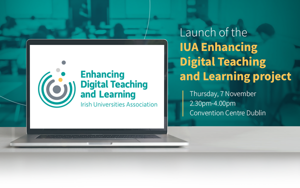 Launch of IUA Enhancing Digital Teaching & Learning Project Nov 7th