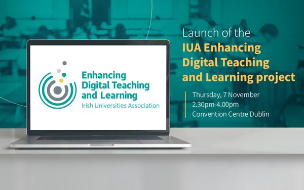 Launch of IUA Enhancing Digital Teaching & Learning Project Nov 7th