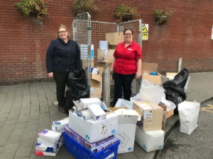 TCD PPE donation to St James's Hospital
