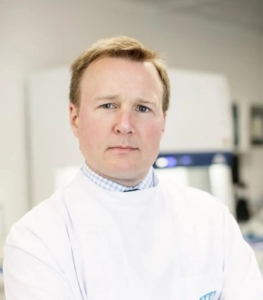 UCD's Dr Cillian De Gascun, Laboratory Director at the UCD NVRL and Consultant Virologist