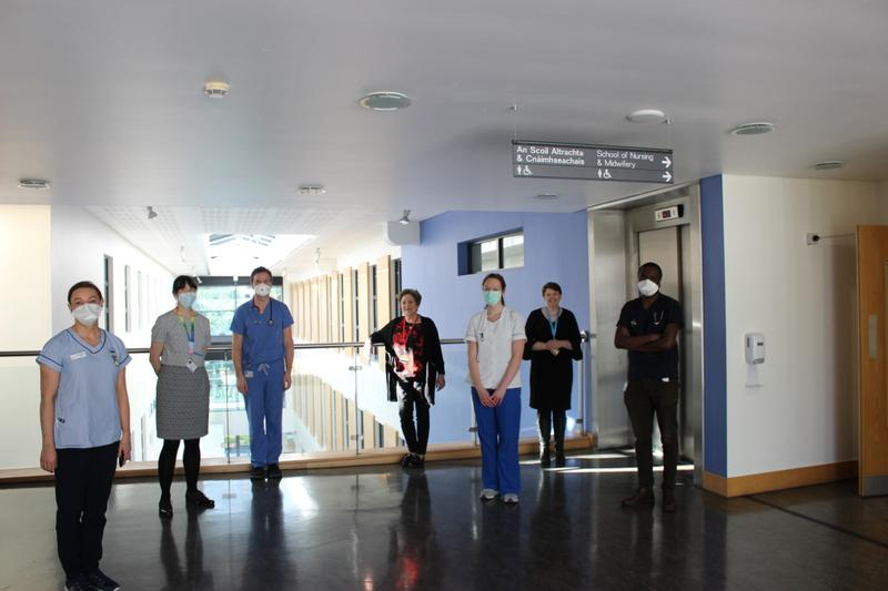 WATCH: Inside the UCC simulation centre transformed to deliver chemotherapy to cancer patients amid coronavirus pandemic