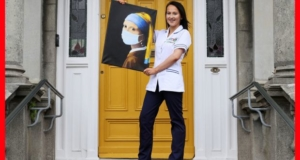 UCD student gives famous painting Covid-19 twist to raise funds for charity