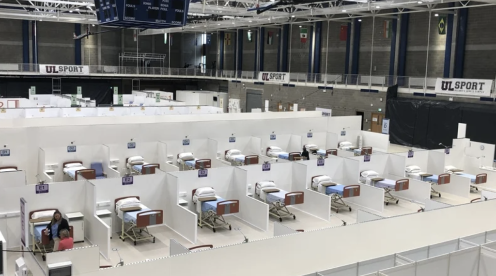 New field hospital in University of Limerick established