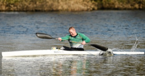Dr Patrick O'Leary, Paralympic Canoeing
