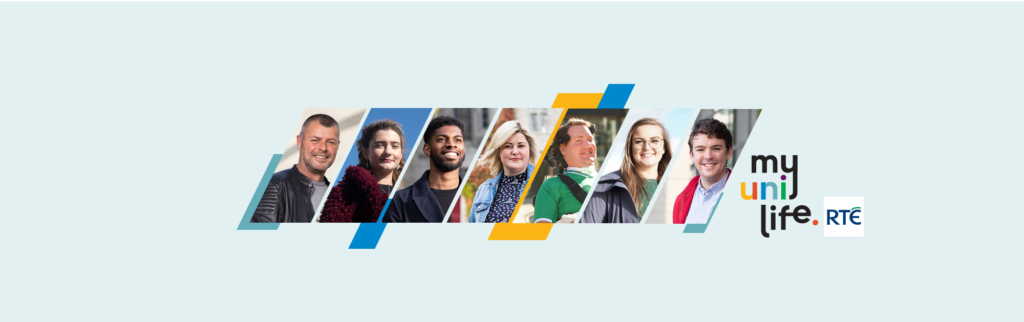 Media Release 27 Oct 2020:  IUA & RTE 5-part documentary series shines a light on seven university students helping to change the face of higher education.