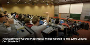 How Many New Course Placements… How Many New Course Placements Will Be Offered To The 6,100 Leaving Cert Students?