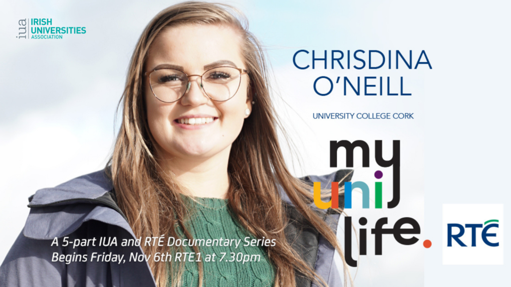 Charleville's Chrisdina to feature in documentary about 'Life In Uni'