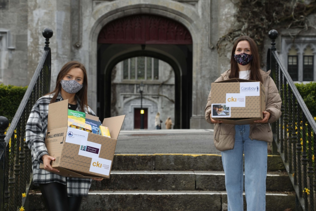 NUI Galway students 'Build Boxes' to support vulnerable during COVID