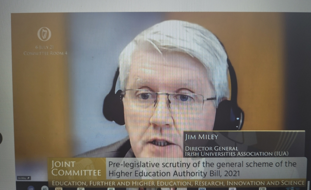 IUA Submission on HEA Act Reform to the Oireachtas Education Committee 06.07.21