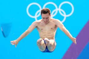 Oliver Dingley, Diving